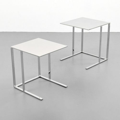 "Pair of Antonio Citterio ""Elios"" Nesting Tables"