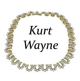 Kurt Wayne Stones: Round Brilliant Diamond Necklace