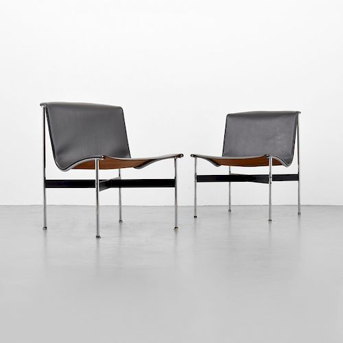 "Pair of Katavolos, Littell & Kelley ""New York"" Lounge Chairs"