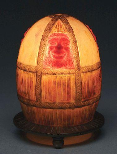 G. Argy Rousseau Masks Night Light.