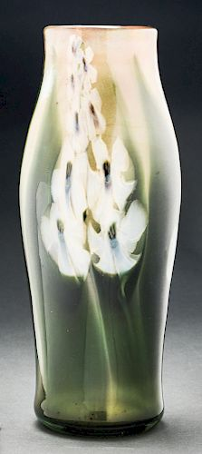 Tiffany Favrile Paperweight Exhibition Vase.