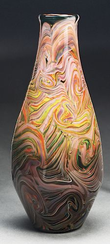 Tiffany Paperweight Vase.