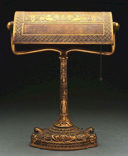 Tiffany Studios Spanish Desk Lamp.