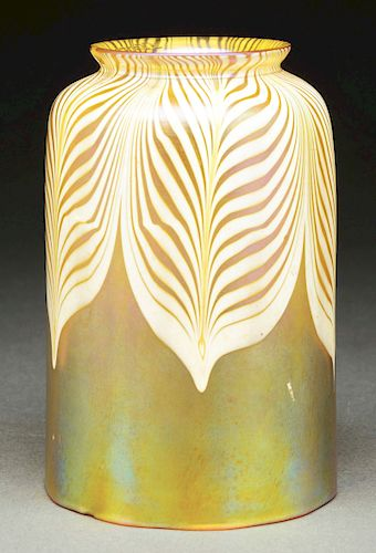 Quezal Art Glass Shade.