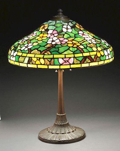Wilkinson Leaded Glass Table Lamp.
