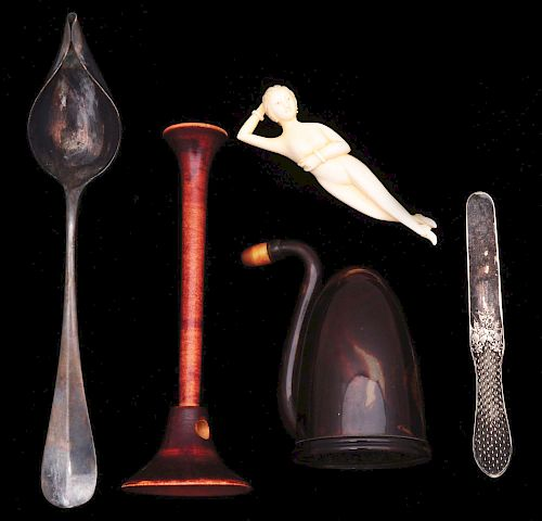 Lot of 5: Antique Medical Devices.