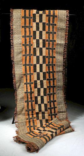 African Kuba Raffia Dance Skirt - ca. 1960