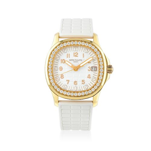 Patek Philippe Ref. 5068R-010 with Diamond Bezel in 18K Pink Gold