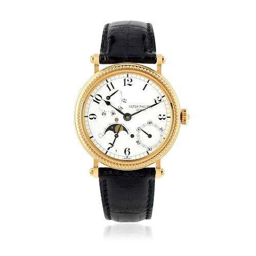 Patek Philippe Ref. 5015J with Officer's Case in 18K Gold