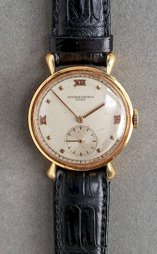 18K Gold Vacheron & Constantin Geneve Wrist Watch