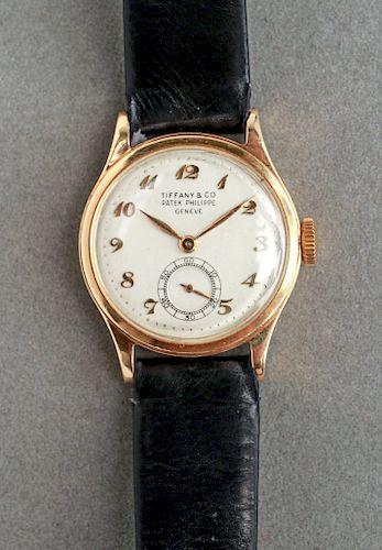 Tiffany & Co. 18K Gold Patek Philippe Geneve Watch