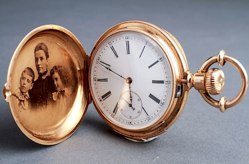 18K Gold H. Redard & Sons Chronometer Pocket Watch