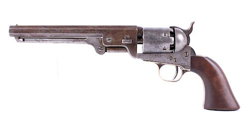 Early Colt Model 1851 Navy .36 Percussion Revolver
