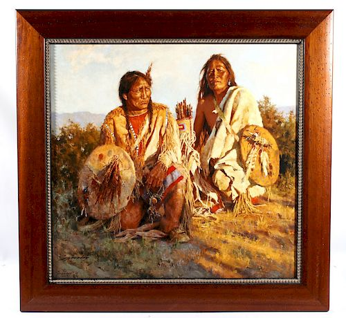 Howard Terpning Giclee Limited Edition Print