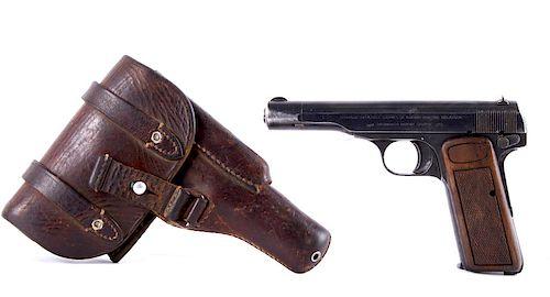 WWII Nazi Luftwaffe Pilot Browning FN Model 1922