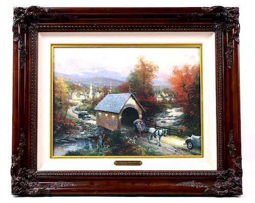 Country Memories by Thomas Kinkade w/ Certificate