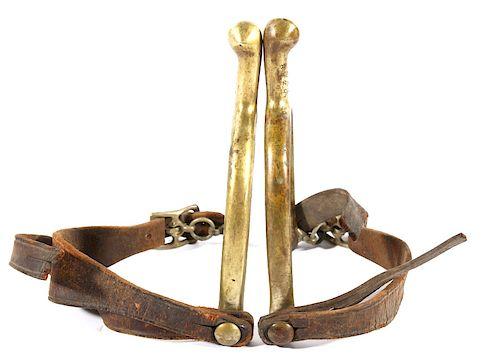 U.S. G.A.P. Cavalry Brass Spurs Model 1885