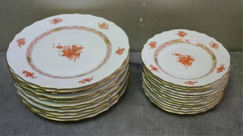 Set of Herend China in the Chinese Bouquet
