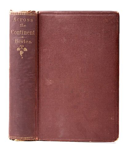 Across The Continent by Samuel Bowles Pub. 1865