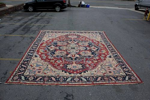 Large Fine Quality Vintage Handmade Carpet.