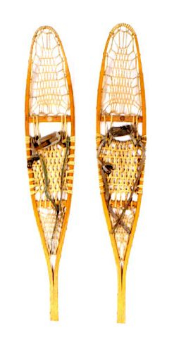 Vermont Tubbs Inc. Rawhide Woven Snowshoes