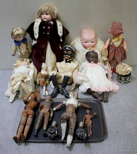 Group of Miscellaneous Vintage Dolls.
