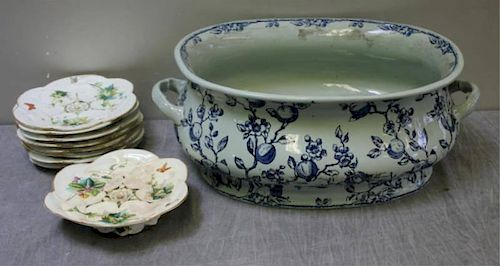 Antique English Porcelain Lot.
