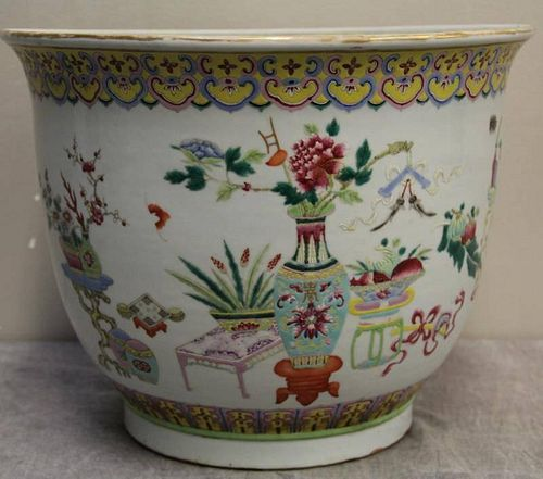 Vintage Chinese Porcelain and Enamel Decorated