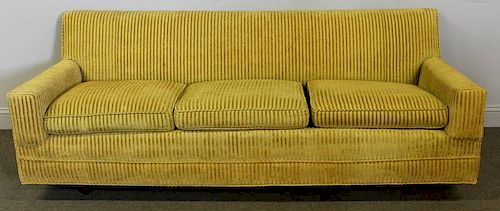 Midcentury 3 Seat Low Sofa.