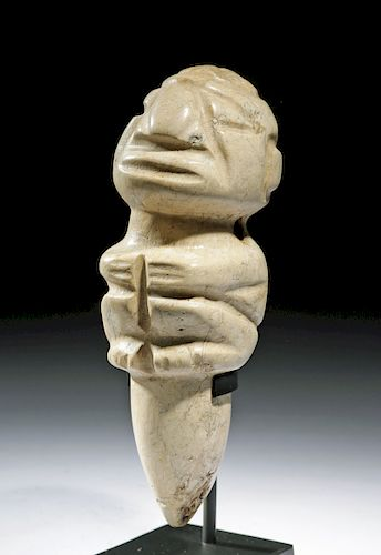 Large Costa Rican Stone Figural Amulet
