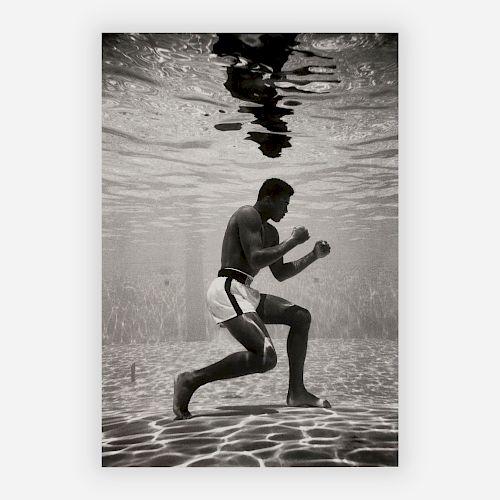 Flip Schulke - Ali Underwater