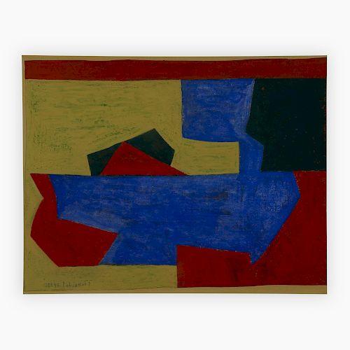 Serge Poliakoff - Composition No. C