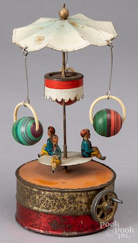 Becker carousel steam toy accessory