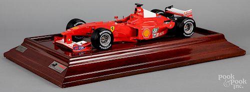 Amalgram Ferrari F1-2000 scale model car