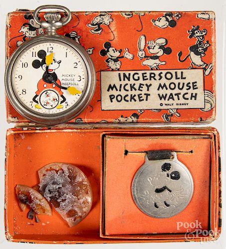 Ingersoll Mickey Mouse pocket watch