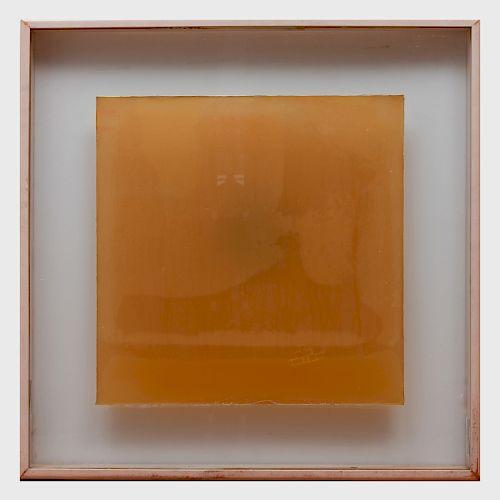 Joseph Beuys (1921-1986): Phosphorus --Cross Sled