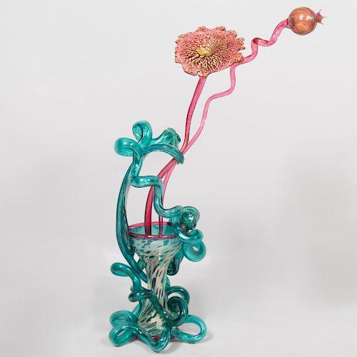 Dale Chihuly (b. 1941): Venetian Vase