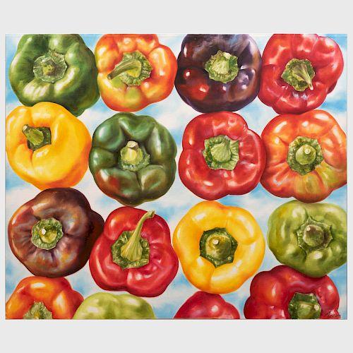Antonio Zorin: Pimientos de Colores