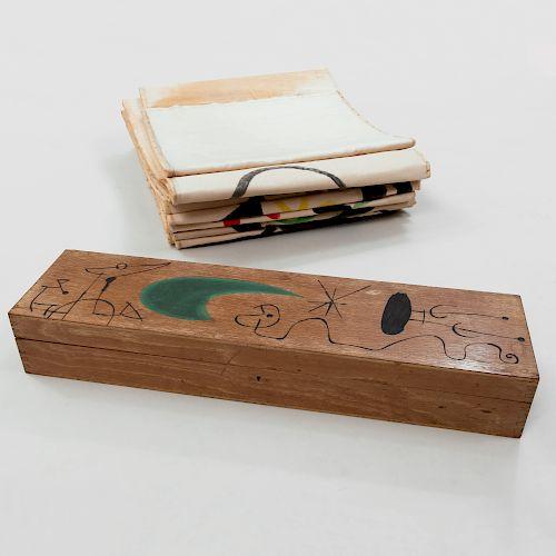 Joan Miró (1893-1983): Makemono