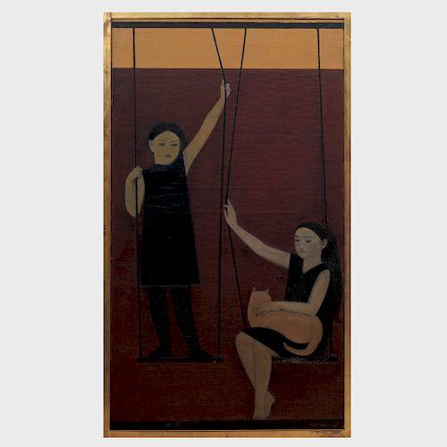 Will Barnet (1911-2012): The Swing