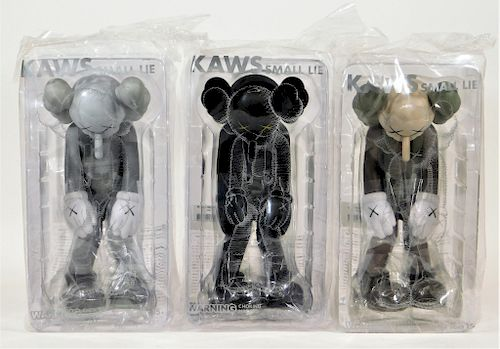 KAWS Small Lie Complete Set Factory Sealed