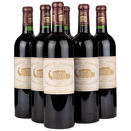 Château Margaux. Cosecha: 2000. Gran Vin Premier Grand Cru Classé. Margaux. Niveles: llenado alto.