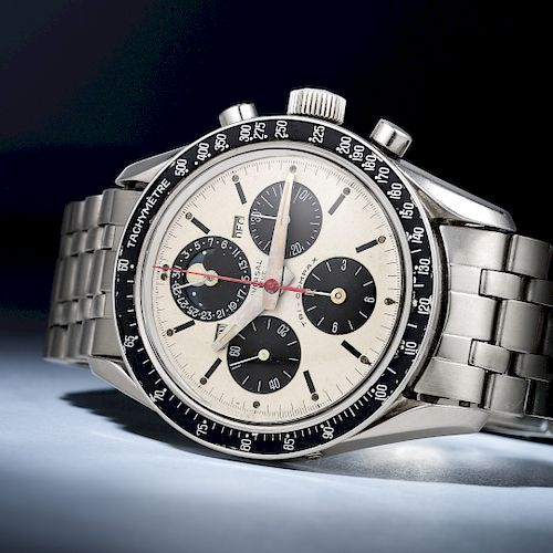 "Universal Geneve Ref. 881101 Tri-Compax ""Eric Clapton"" Chronograph in Steel"