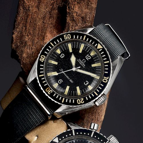 OMEGA Seamaster 300 Ref. 165.024 for the British Military in Steel
