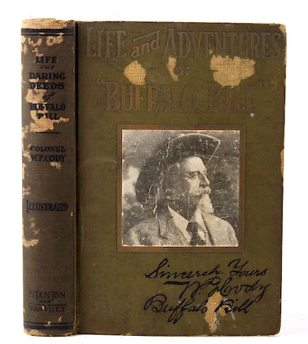 Life & Adventures of Buffalo Bill 1917 1st Edition