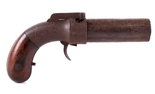 Allen & Thurber .32 Cal Six-Shot Pepperbox Pistol