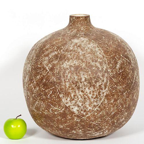 "*Claude Conover, ""Nacal"" Stoneware Pottery Vessel"