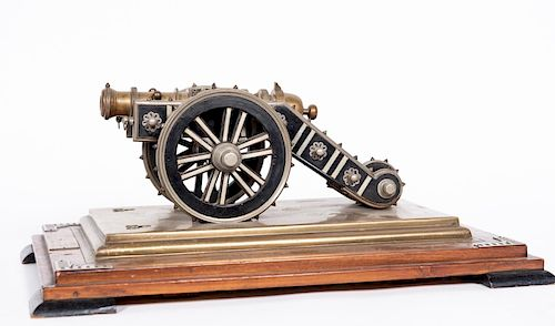 Zamzama Bronze 1:25 Model Bronze Cannon