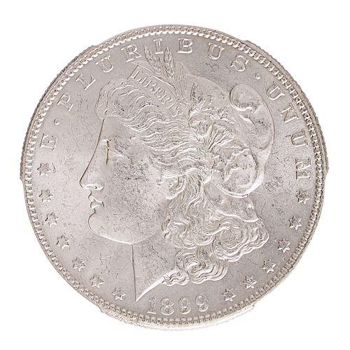 U.S. 1899-P, O, AND S MORGAN $1 COINS
