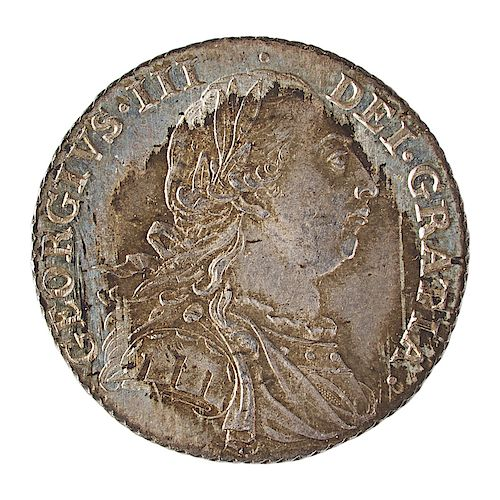 GREAT BRITAIN 1787 ONE SHILLING COIN